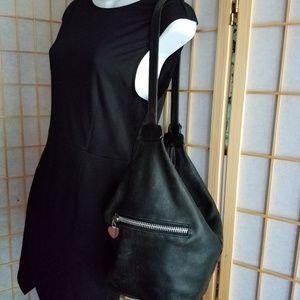 Leather Moto Bag